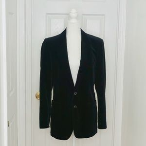 YVES SAINT LAURENT Black Velvet Dinner Jacket